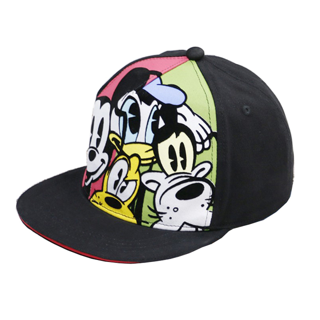 cartoon mouse hats Kids cartoon caps toddler boy caps summer hip hop cap snapback adjustable baseball hat
