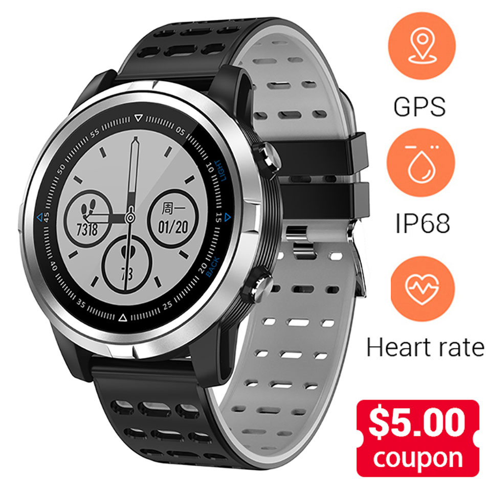 Smart Watch Men Women Built-in GPS Heart Rate Monitor Pedometer IP68 Waterproof Bluetooth Run Sport Wrist Watch For Android IOS Smart Watch Men Women Built-in GPS Heart Rate Monitor Pedometer IP68 Waterproof Bluetooth Run Sport Wrist Watch For Android IOS