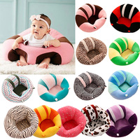 Baby Support Seat Sofa Cute Soft Animals Shaped Infant Baby Learning To Sit Chair Keep Sitting