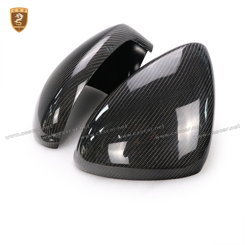 Carbon Fiber Side Wing Mirror Covers For Porsche Panamera 2014 2015 2016 Add on Style Rear View Mirror Cover Car Styling for audi s3 2014 2015 add on carbon fiber mirror covers