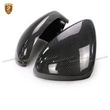 Carbon Fiber Side Wing Mirror Covers For Porsche Panamera 970 2010 2014 2015 2016 Add on Style Rear View Mirror Cover Only LHD carbon fiber side wing mirror covers for porsche panamera 970 2010 2014 2015 2016 add on style rear view mirror cover only lhd