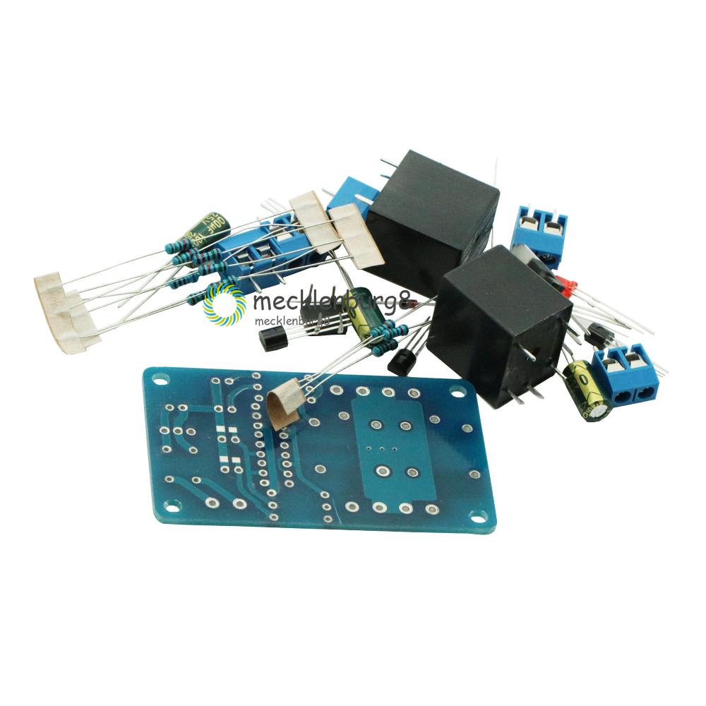 Speaker Protection Board Component Audio Amplifier DIY Boot Delay DC Protect DIY Kit For Arduino Stereo Amplifier Double Channel