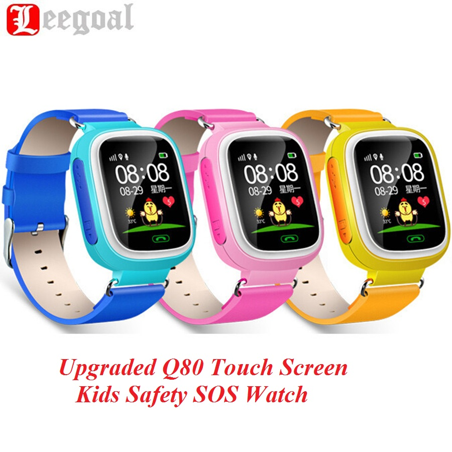 G7 Colorful Touch Screen Smart Watch Children SOS Call Location Finder Device An