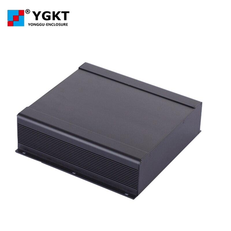 250*73.5-250mm (W-H-L) boîtier de commande/enceinte d'extrusion d'aluminium pour l'électronique, boîtier en aluminium de l'électronique logement/cas du projet
