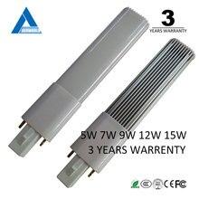 LED Bulb G23 led lamp 5W 7W 9W 12W 110V 120V 220V smd 2835 2 pin tube cfl LED Light compact led tc lamp
