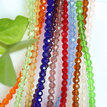ZHUBI 3MM 195PCS Fashion Jewellery Bead DIY Beads For Bracelets Making Craft Supply Czech Flat Faceted Crystal Football Beads цена