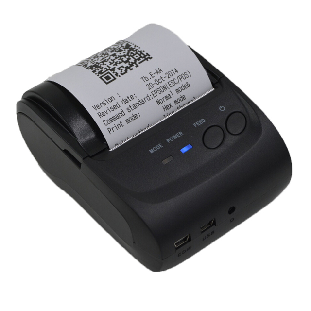 Термопринтер 58 мм Интерфейс USB POS Чековый Принтер Ресторан Билл Принтера Билет Машина для Ресторана и Супермаркета
