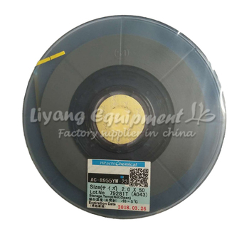 ACF AC-8955YW-23 PCB Repair TAPE 1.5/2.0*50M latest Date for pulse hot press flex cable machine use