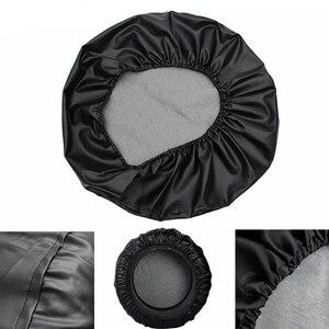 "Image 2 - 14"" 15"" Inch (Tire Diameter 24""  29"") Heavy Duty PVC Leather Spare Wheel Tire Tyre Cover Storage For Suzuki Grand Vitara"