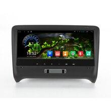 8.8 pulgadas pantalla Android 4.4 sistema de navegación del GPS del coche multimedia reproductor de DVD estéreo auto Radios para Audi TT (2006-2012)
