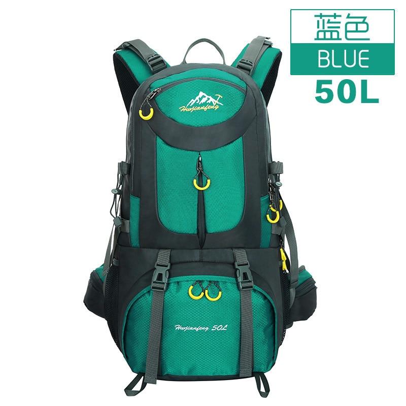 ФОТО 2016 Hot Sale 40L/50L Waterproof Women Men Travel Backpack high quality Backpack School bag Free Shipping