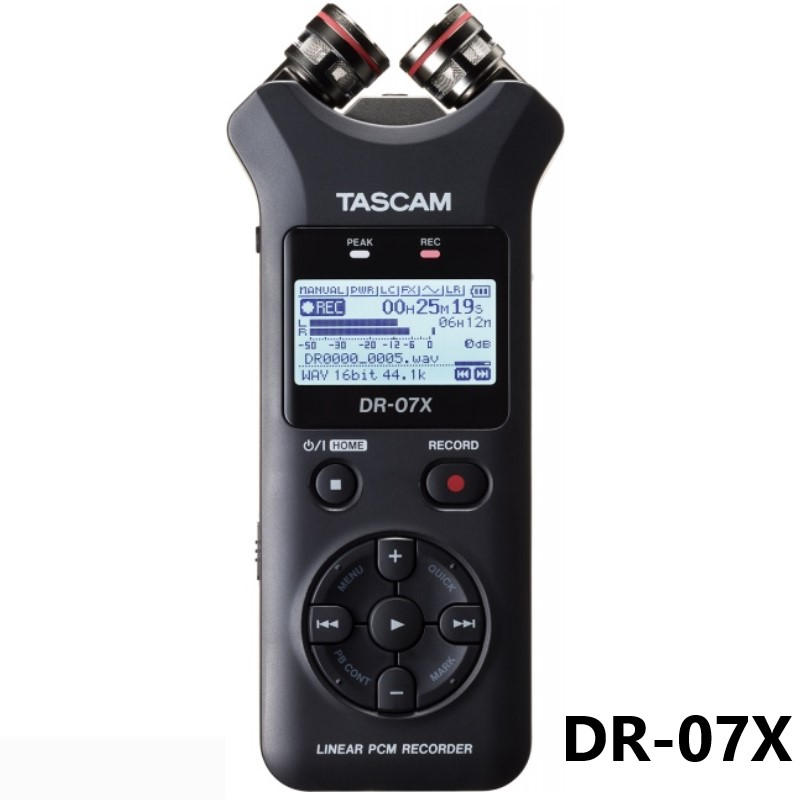 Tragbares Audio & Video Trendmarkierung Tascam Dr07x Dr-07x Tragbare Digitale Voice Recorder Für Interview Mp3 Hd Noise Reduktion Aufnahme Stift Usb Audio Interface 100% Hochwertige Materialien