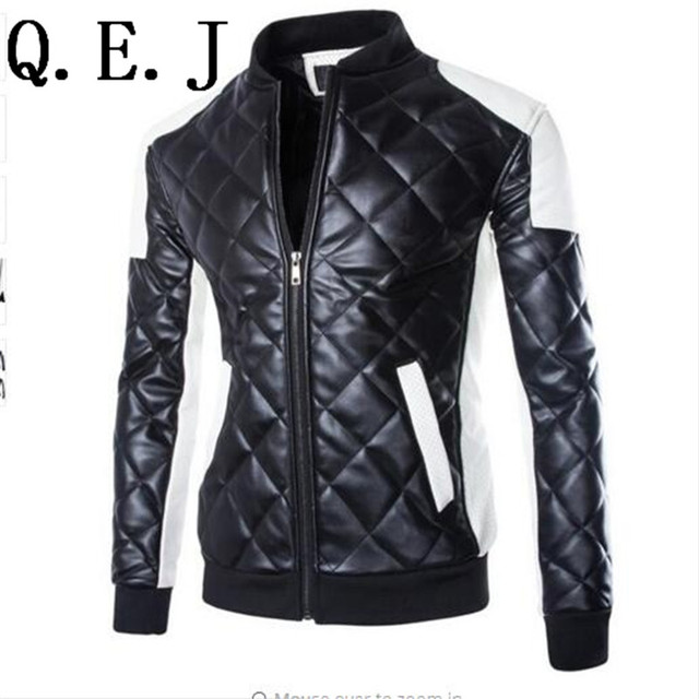 2015 Man Leather Jackets Genuine Leather Jaquetas Masculinas Inverno Couro Men Jaquetas Men's Winter Leather Jacket plus size