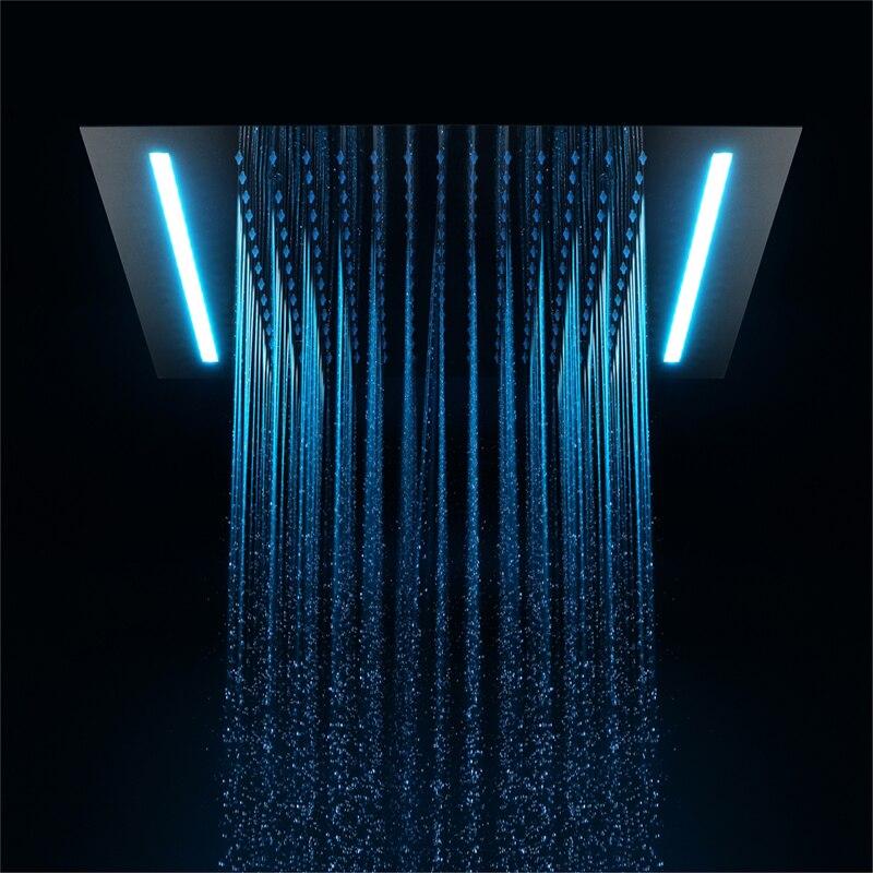 500*360 мм одной функции светодио дный осадков насадки для душа 304 нержавеющая сталь