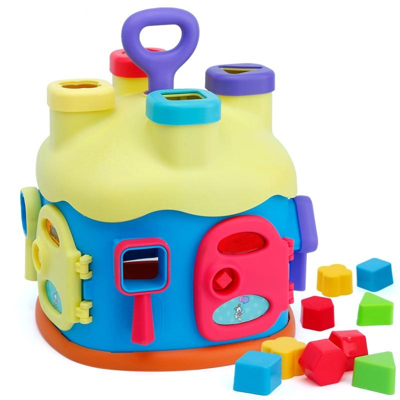 Giocattoli Educativi Per bambini 12-24 Mesi Del Bambino Del Fumetto Blocchi Brinquedos Para Bebe Oyuncak Giocattoli per I Bambini