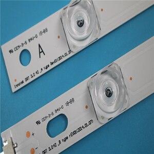 """Image 5 - 825mm led 백라이트 램프 스트립 8 led lg innotek drt 3.0 42 """"_ a/b 유형 rev01 rev7 131202 42 인치 lcd 모니터 1set"""