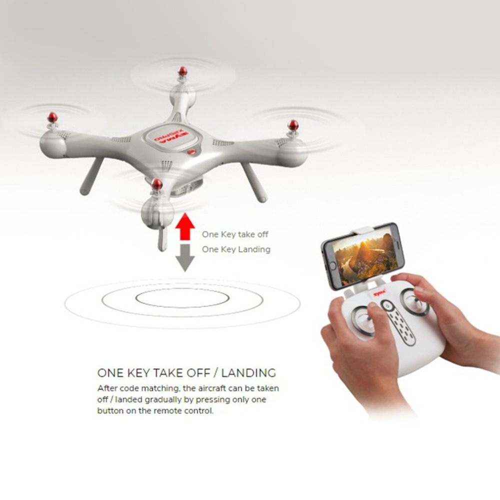 Syma X25PRO 2.4G GPS Positioning FPV RC Drone Quadcopter with 720P HD Wifi Adjustable Camera Altitude Hold Follow Me Gift syma x25pro rc drone fpv 720p hd adjustable camera wifi gps drone altitude hold rc quadcopter phone app control
