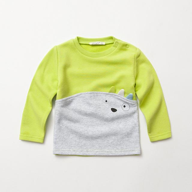 Superior Para Niño Niños Camisetas de Manga Larga 2017 Nueva Llegada Camiseta de Los Niños Camisa de Los Niños Camisetas de Los Niños Ropa de la Marca D3265