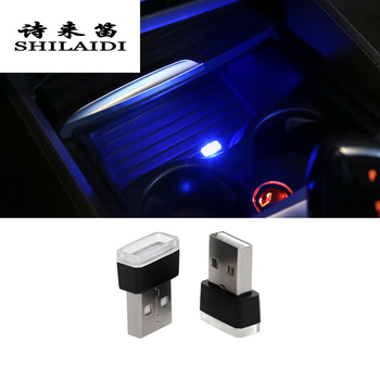Car Styling Auto Cup Holder storage box light USB Decorative Stickers For BMW F10 E90 F20 F30 E60 GT F07 X3 f25 X4 f26 X5 X6 E70 image