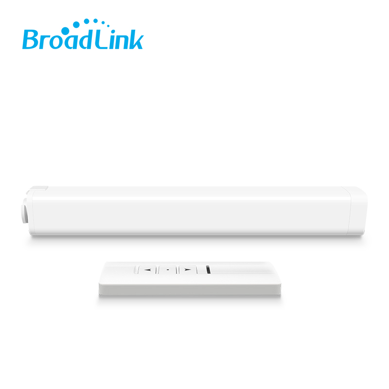 Original Broadlink WIFI Electric Curtain Motor Remote Control by IOS Android Smartphone Home Automation System ewelink dooya electric curtain system curtain motor dt52e 45w remote control motorized aluminium curtain rail tracks 1m 6m