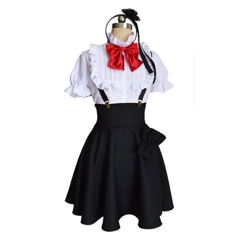 Free shipping Anime Dagashi Kashi Cos Halloween Shidare Hotaru Cosplay Man Woman Costume