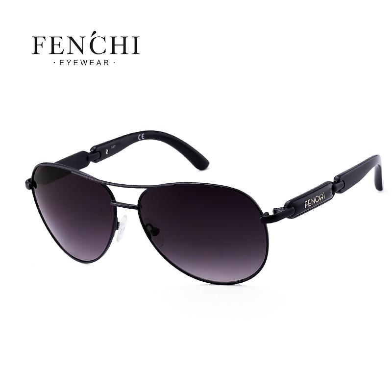 FENCHI Polarized Sunglasses Women Vintage Brand Glasses Driving Pilot Pink Mirror sunglasses Men ladies oculos de sol feminino 12