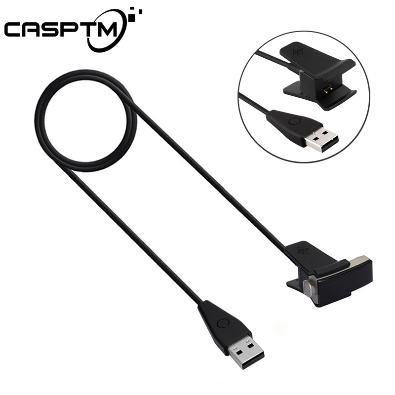 CASPTM USB Cable For Fitbit Alta With Reset Smartwatch Charger Charging Wristband Clamp Clip Smart Watch USB Cord Wire Line