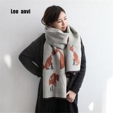 Winter bandana women cashmere Keep warm blanket scarf print fox high quality tassel pashmina ladies poncho and cape apparel