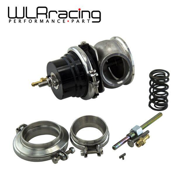 ФОТО WLRING STORE- GT II 60MM Adjustable Turbo Wastegate Black-  V BAND For 1jzgte / SR20DET / JDM WLR5891BK