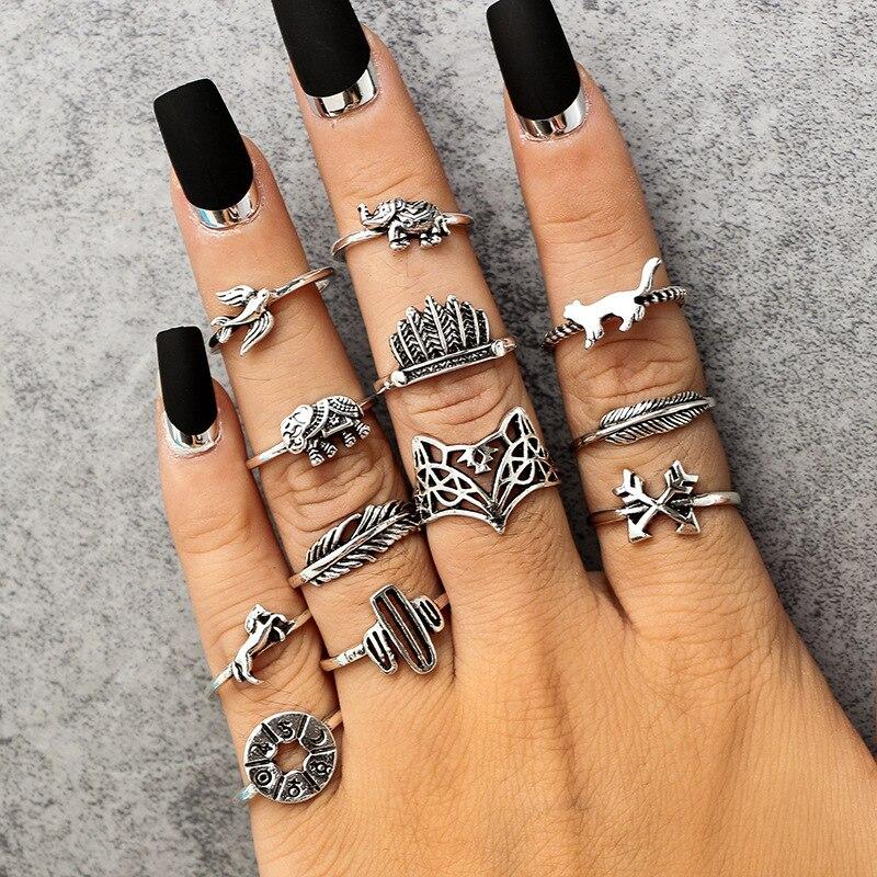 Vintage Animal Rings Cute Animal Rings