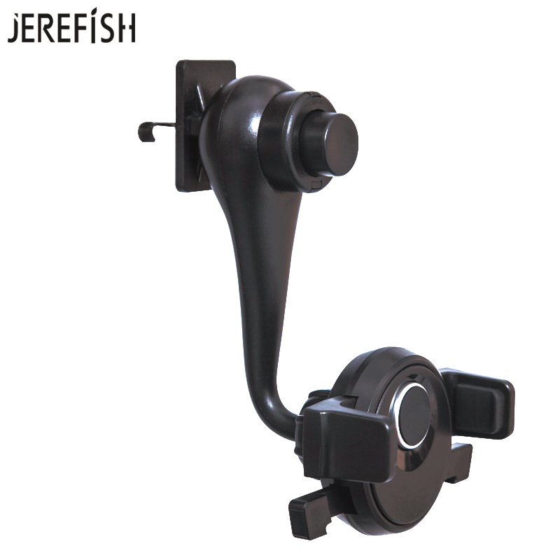JEREFISH Universal Car Phone Holder Adjustable Air Vent Mount Holder For IPhone 7 8Plus 6s X Galaxy S4 Huawei Phone Mount