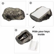 Сейф для ключей полый секрет скрытый Забавный грязный камень