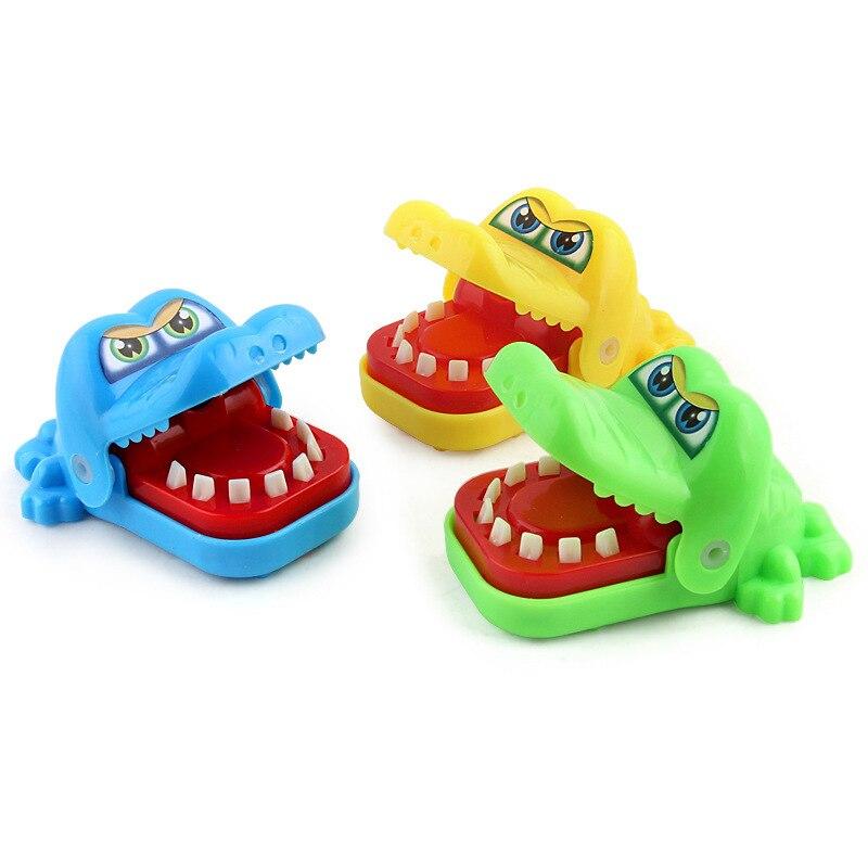 Animals & Nature Strict Fun Crocodile Dentist Bite Finger Pull Teeth Game Children Kid Toy Gift Prank 1 Educational