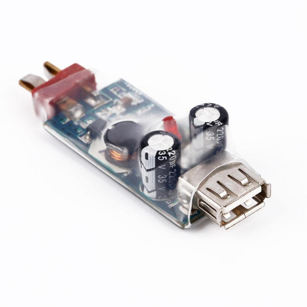 Прочный 2-6 S Lipo Батарея USB Зарядное устройство адаптер T штекер для Iphone