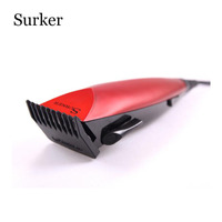 Surker Pressional Hair Trimmer Super Quiet Perfect Cutting Hair Clipper Good Precision Cutting Stainless Steel Blades