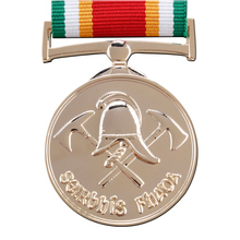 3D silver Medal cheap custom metal medals with ribbons hot sales