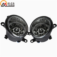 Malcayang Angel Eyes Car Styling Halogen Fog Lamps 12V 1 SET For TOYOTA Vitz Yaris 5