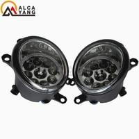 Malcayang Angel Eyes Car Styling Halogen Fog Lamps 12V 1 SET For TOYOTA Vitz Yaris 5