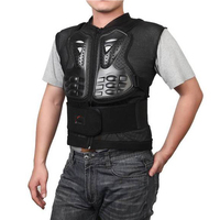 Cycling Vest Sleeveless Armor Jacket Motorcycle Racing Chest Protector Gear Cycling Skate Motocross Racing Body Protective Guard