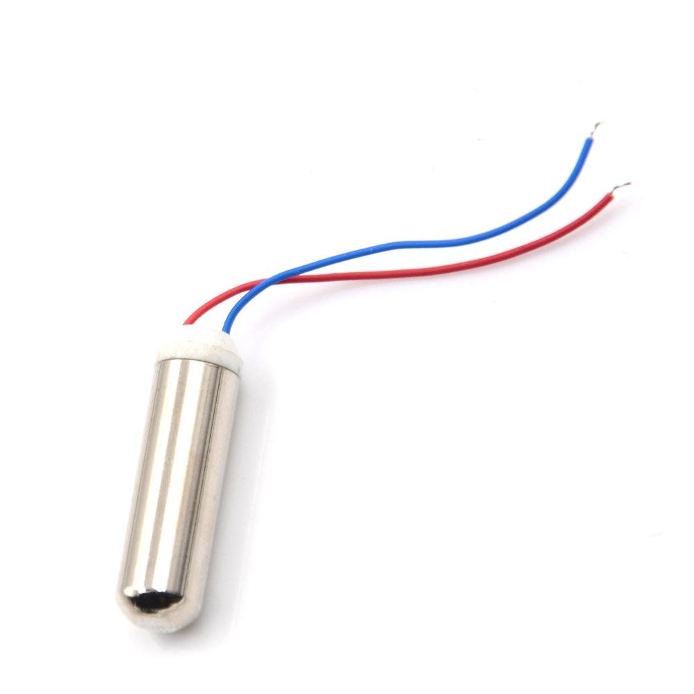 BestTong 10PCS 7mmx25mm Micro Waterproof Miniature Vibration Vibrating Motor Coreless Motor Mini DC Replacement Motors