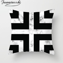 Fuwatacchi Geometric Pattern Cushion Cover Nordic Style and European Throw Pillow Diamond Pillowcases