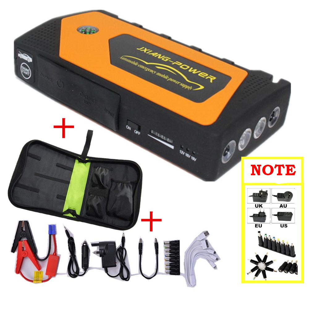 Best Selling Products Battery Charger <font><b>Portable</b></font> Mini Car Jump Starter Booster <font><b>Power</b></font> Bank For 12V Car