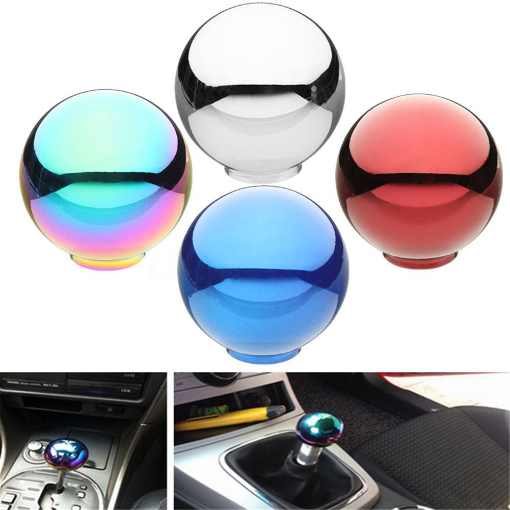 Transmission Lever Vehicle Supplies Direct Replacement Universal Round Ball Gear Shift Knob Durable Car Easy Install Fashion