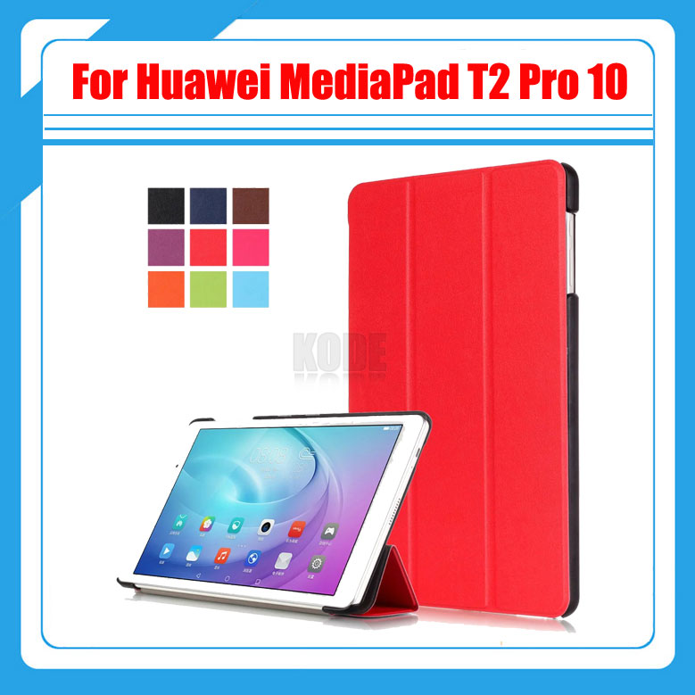 3in1 Pu Leather Smart Case Cover For Huawei MediaPad T2 Pro 10 FDR-A01W FDR-A03L Tablet PC + Screen film + Stylus mediapad m3 lite 8 0 skin ultra slim cartoon stand pu leather case cover for huawei mediapad m3 lite 8 0 cpn w09 cpn al00 8