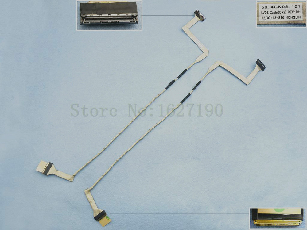 """ORIGINAL NEW GENUINE DELL INSPIRON 1750 17.3/"""" LED LCD SCREEN CABLE 50.4CN05.101"""