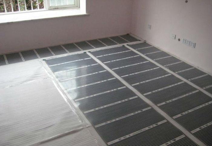 heating film install case 002