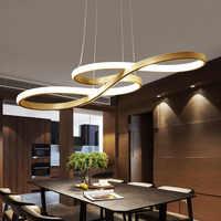Minimalisme DIY Suspendus Moderne Led Lampes Suspendues Pour Salle À Manger Bar suspension luminaire suspendu Pendentif Lampe Luminaire