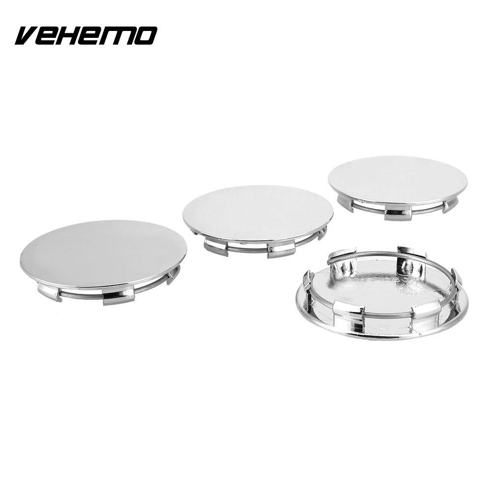 Dynamic Wheel Center Cap Car Wheel Cover Stylish Hub Cap Spare Vehicle Silvery White No Logo Premium Wheel Hub Cover An Indispensable Sovereign Remedy For Home