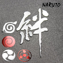 Naruto Anime 3D Metal Stickers Decal 9 pcs