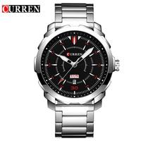 Relogio Masculino Date Mens Fashion Casual Quartz Watch Curren Men Watches Top Brand Luxury Military Sport